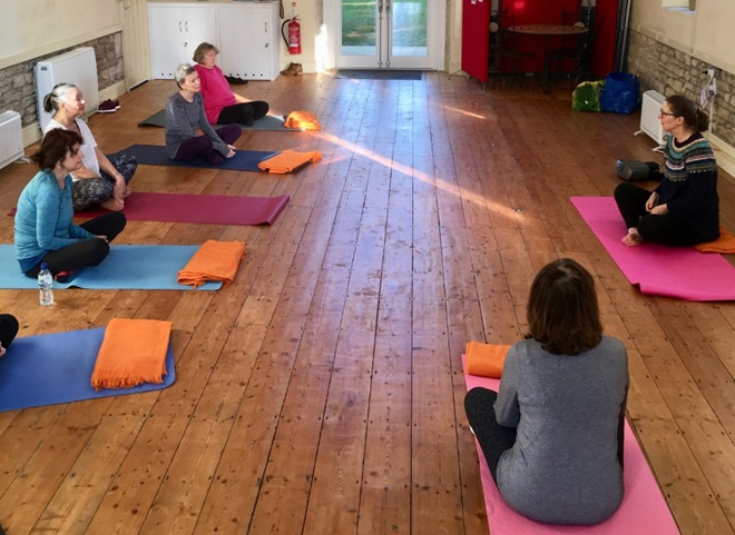 Yoga to boost the immune system – Mondays
